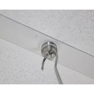 plafondmagneet rond 15 mm transparant