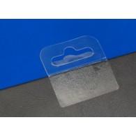 Transparante Eurolock sticker om producten op te hangen